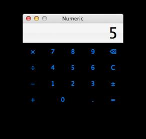 Numeric UI