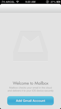 Welcome to Mailbox