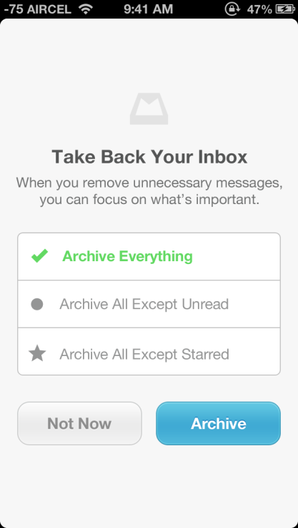 Mailbox Archive